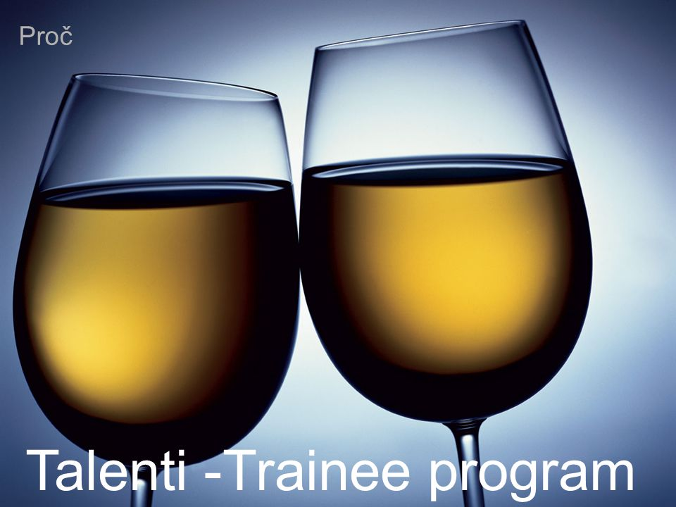 Talenti -Trainee program