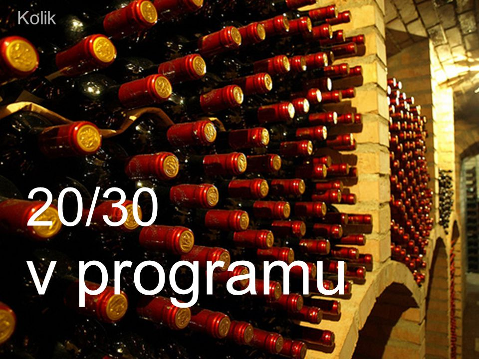 Kolik 20/30 v programu May 14, 2009