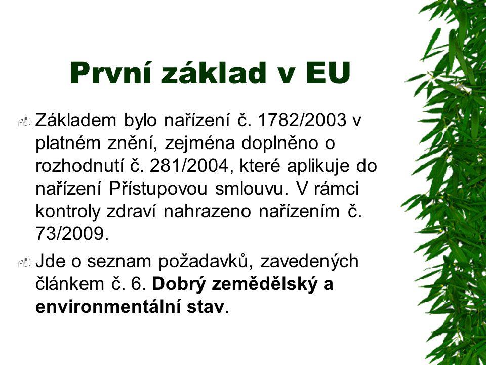 První základ v EU