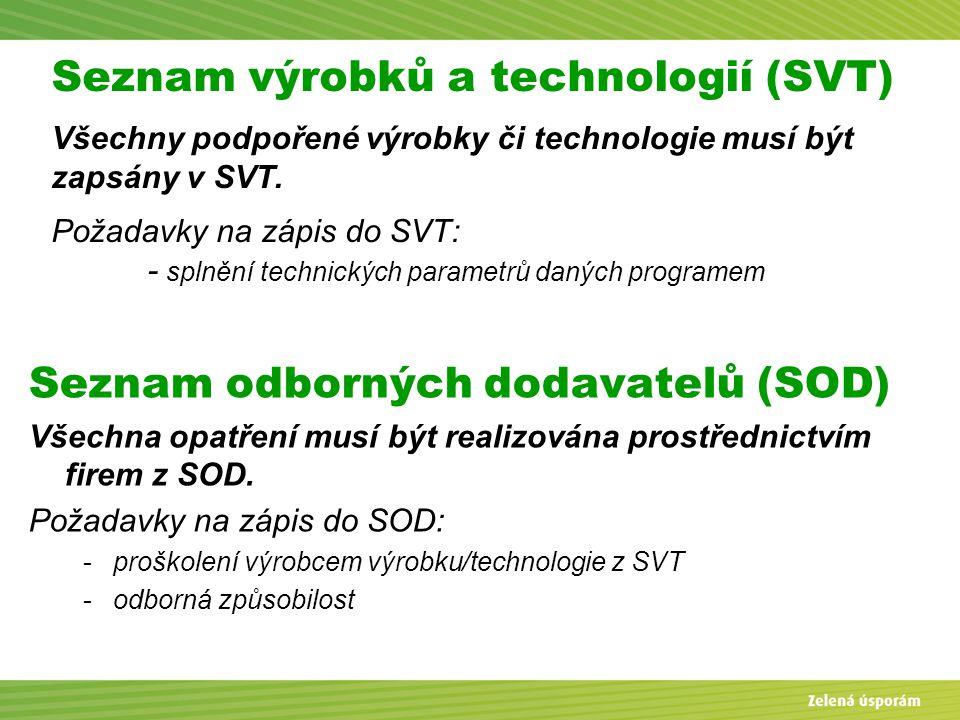 Seznam odborných dodavatelů (SOD)