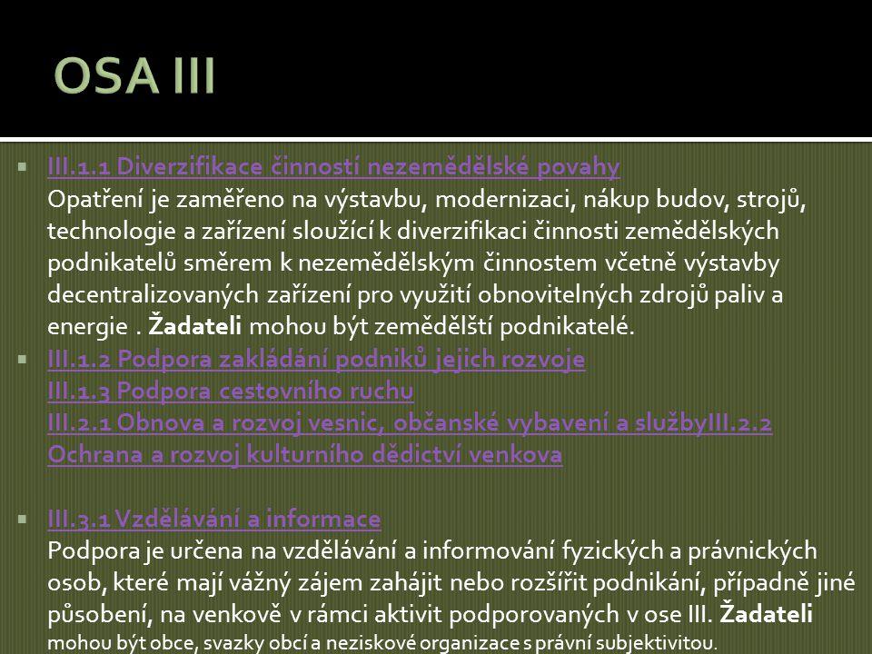 OSA III