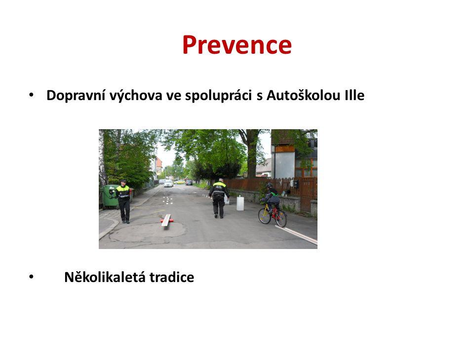 Prevence Dopravní výchova ve spolupráci s Autoškolou Ille