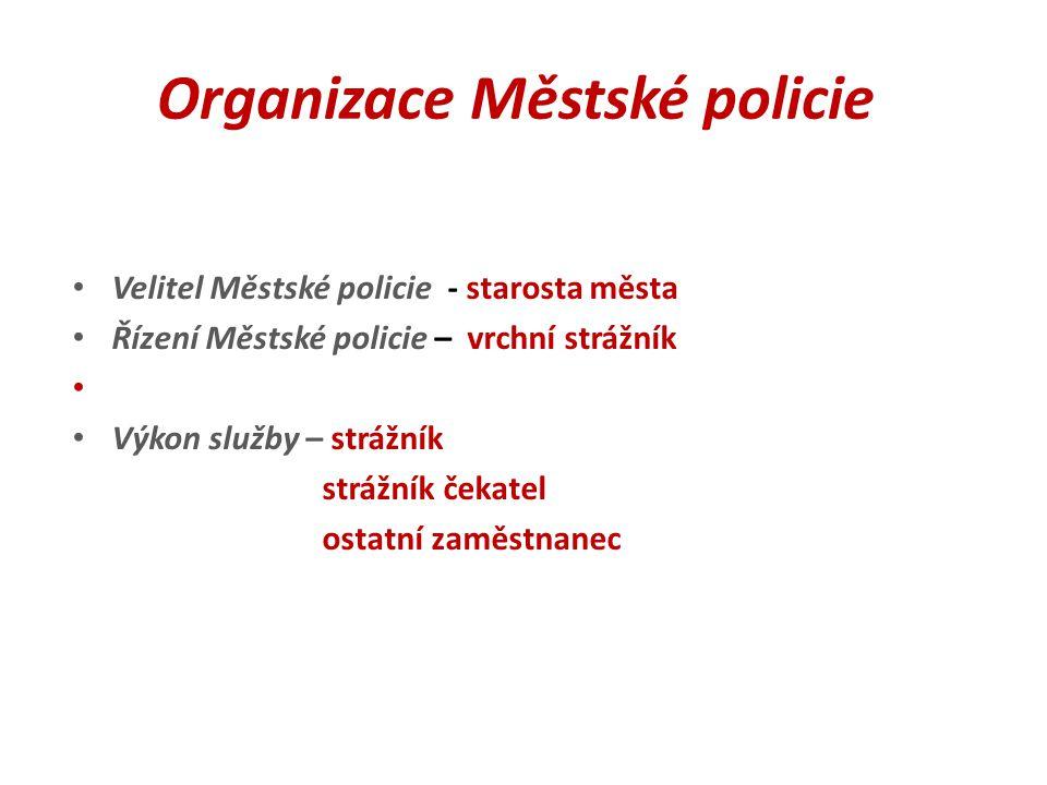 Organizace Městské policie