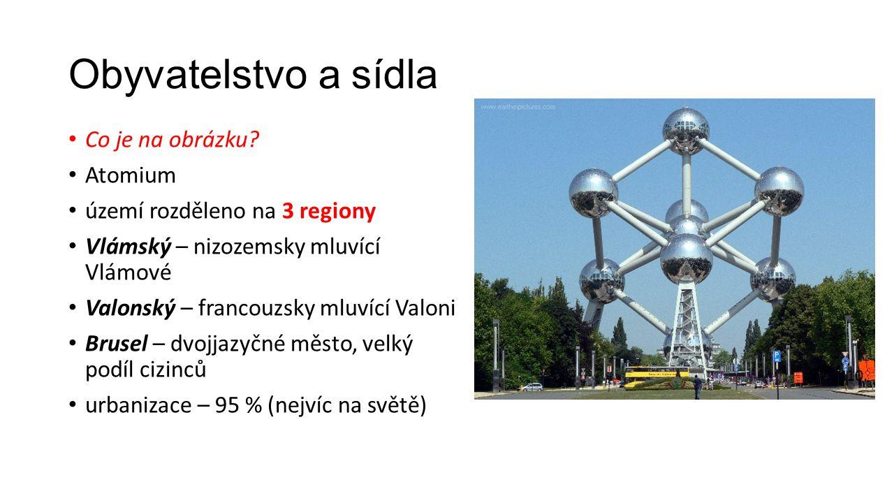 Obyvatelstvo a sídla Co je na obrázku Atomium