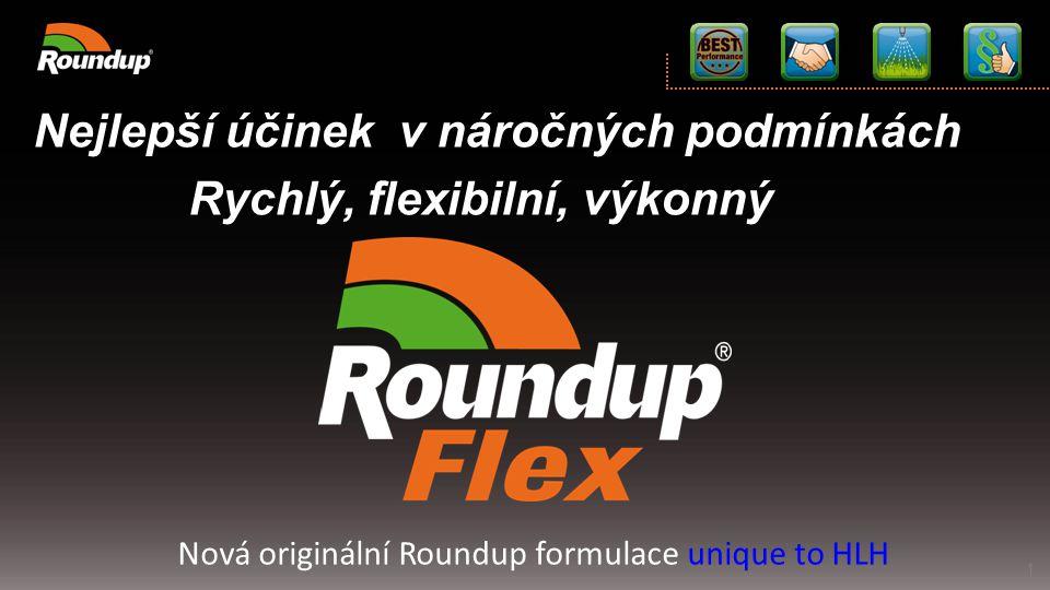 Nová originální Roundup formulace unique to HLH