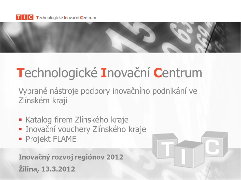 Technologické Inovační Centrum