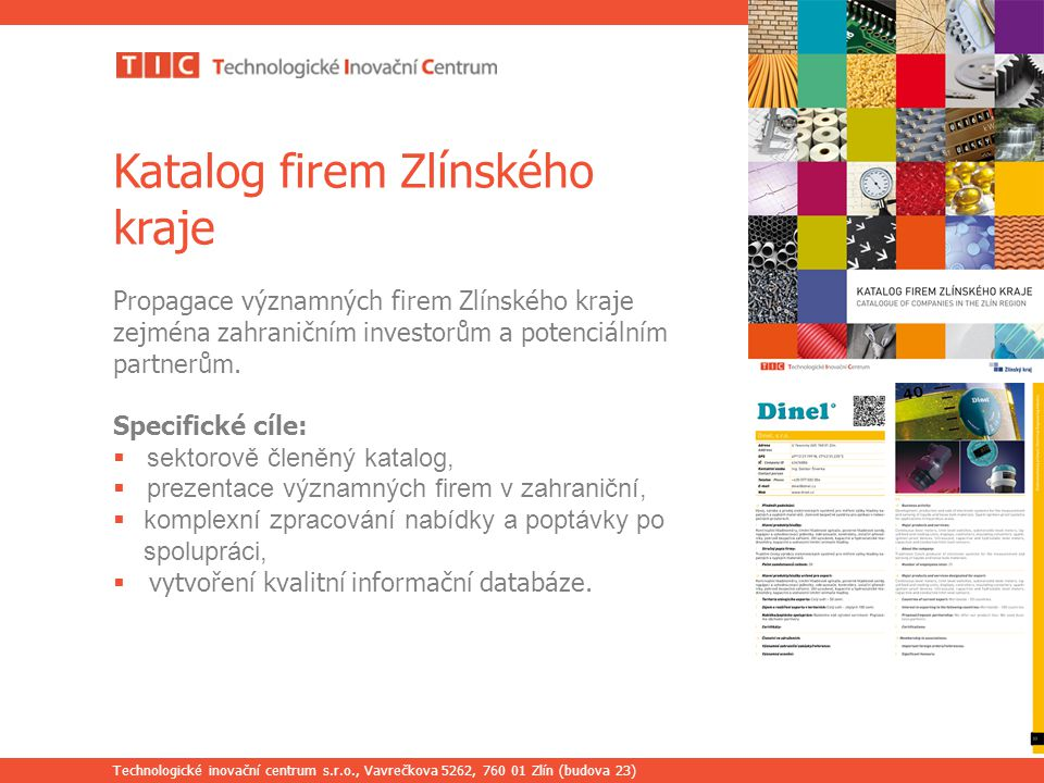 Katalog firem Zlínského kraje
