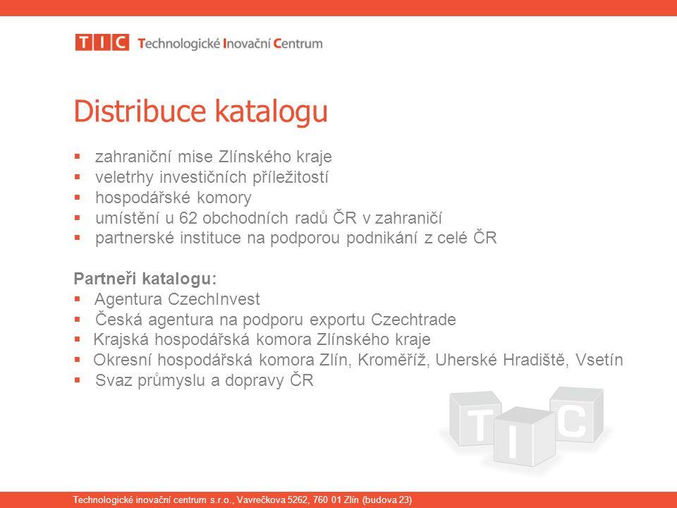 Distribuce katalogu zahraniční mise Zlínského kraje