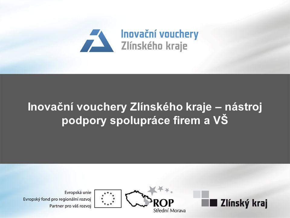 Inovační vouchery Zlínského kraje – nástroj podpory spolupráce firem a VŠ