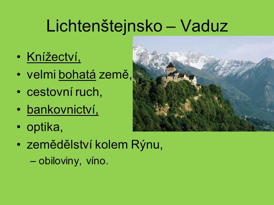 Lichtenštejnsko – Vaduz