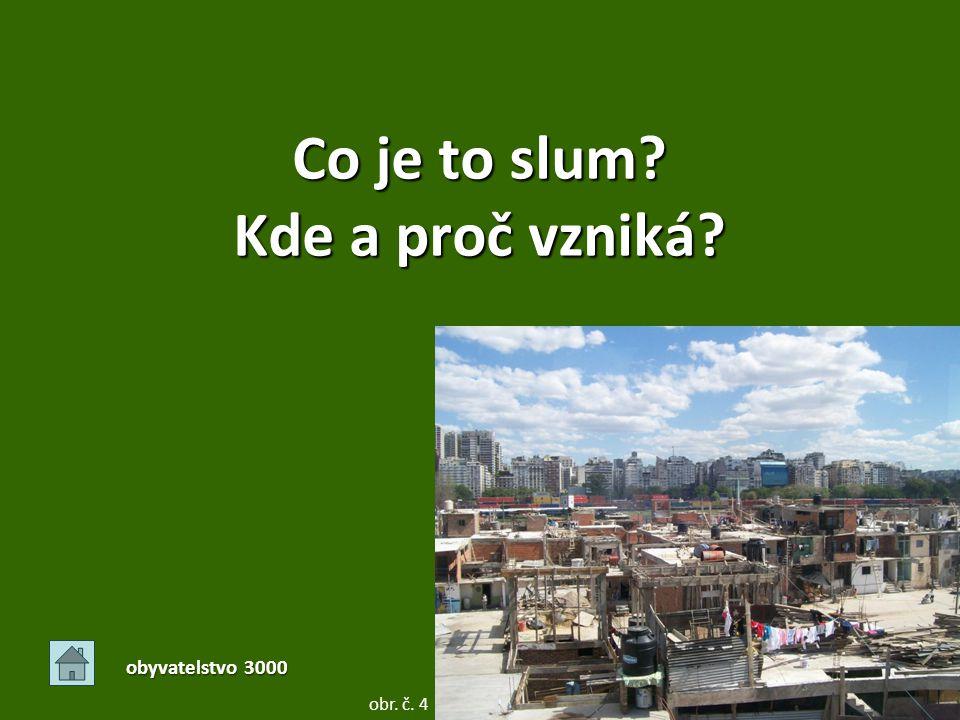 Co je to slum Kde a proč vzniká
