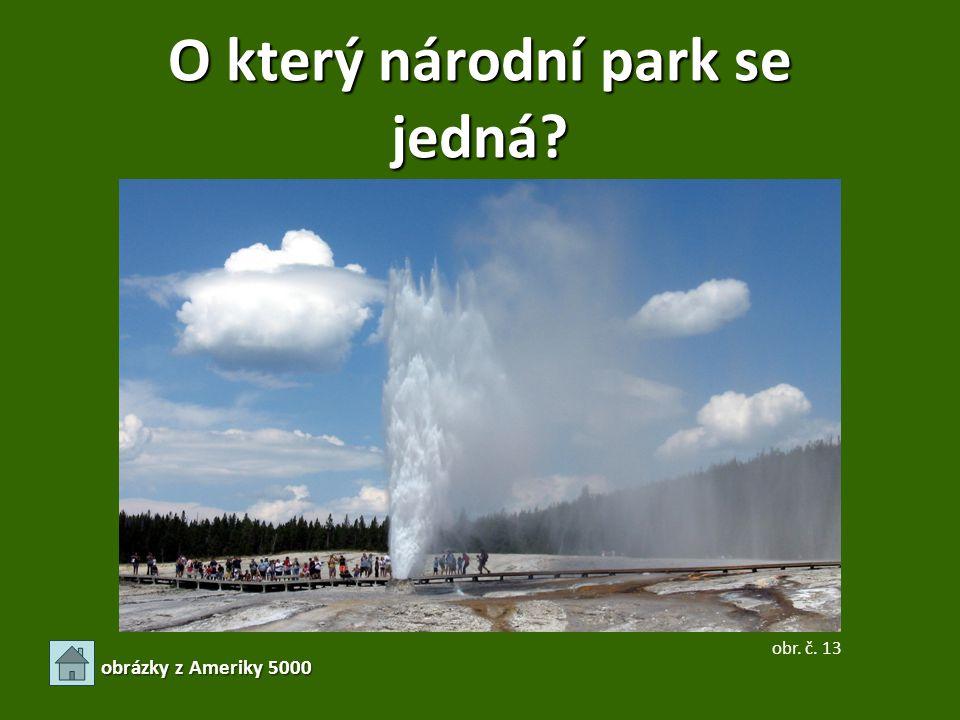 O který národní park se jedná