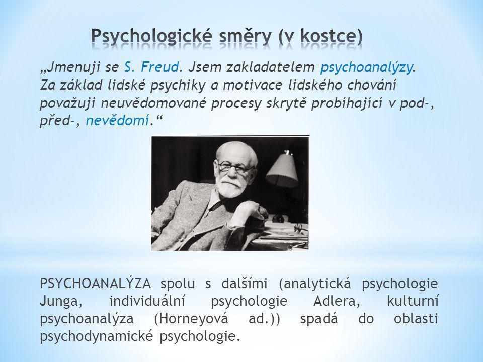 Psychologické směry (v kostce)