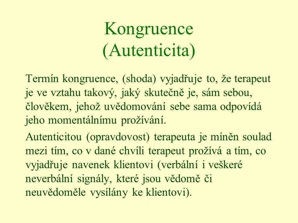 Kongruence (Autenticita)