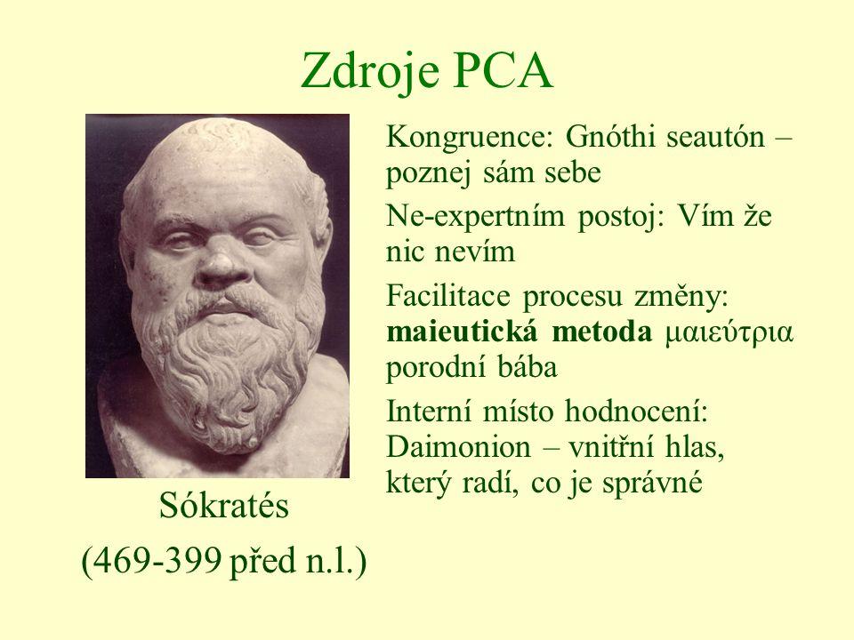Zdroje PCA Sókratés (469-399 před n.l.)