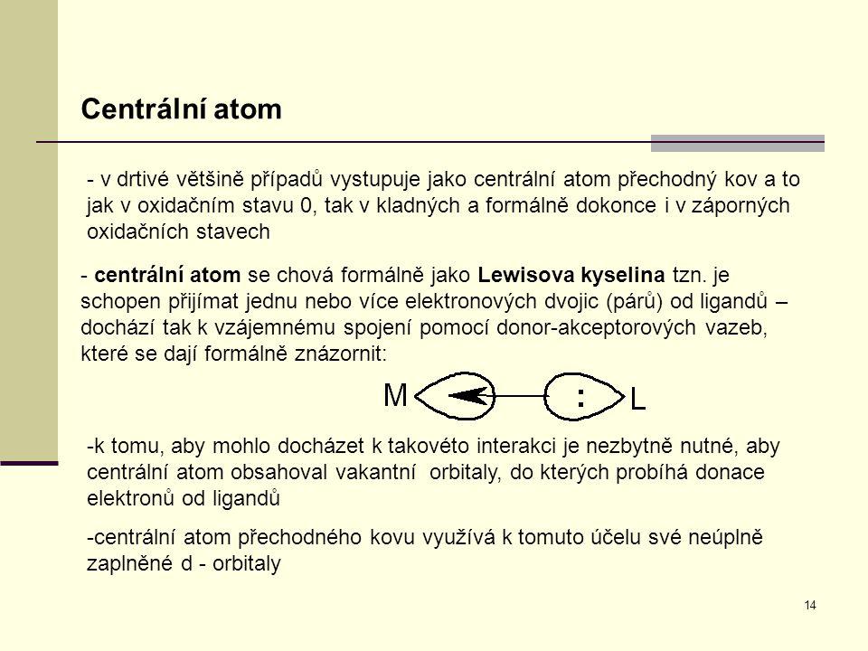 Centrální atom