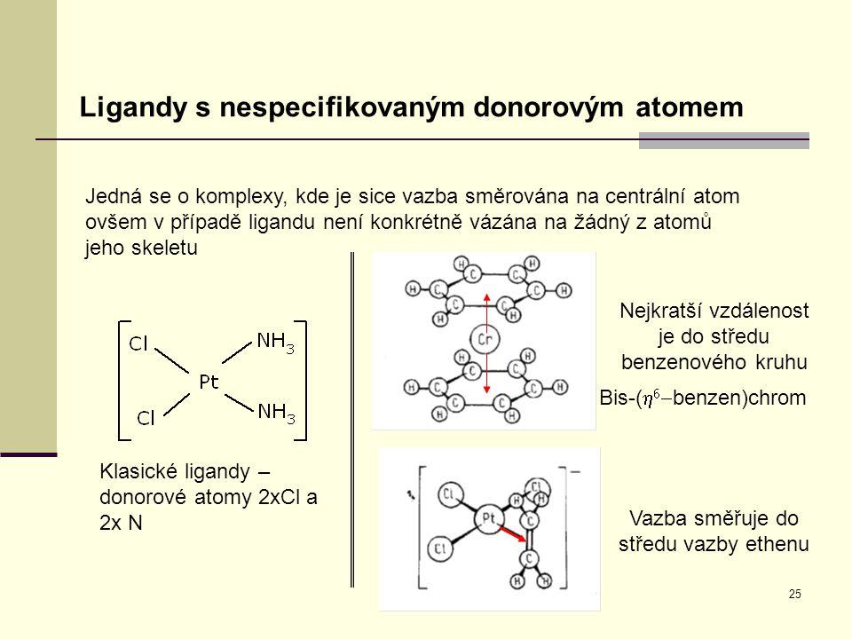 Ligandy s nespecifikovaným donorovým atomem