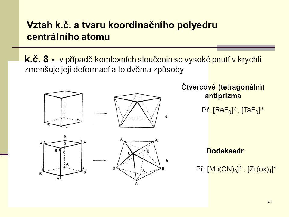 Čtvercové (tetragonální) antiprizma