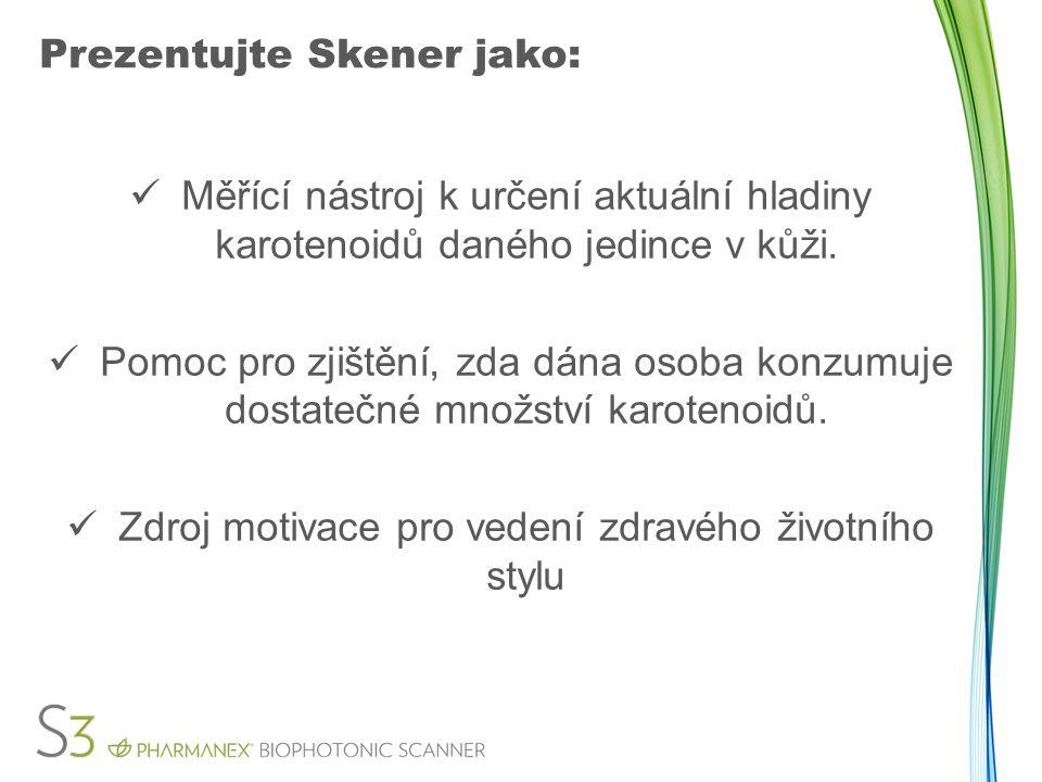 Prezentujte Skener jako: