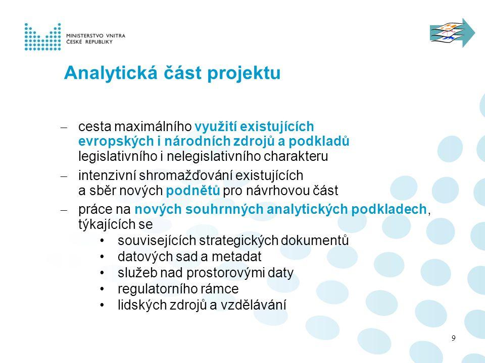 Analytická část projektu