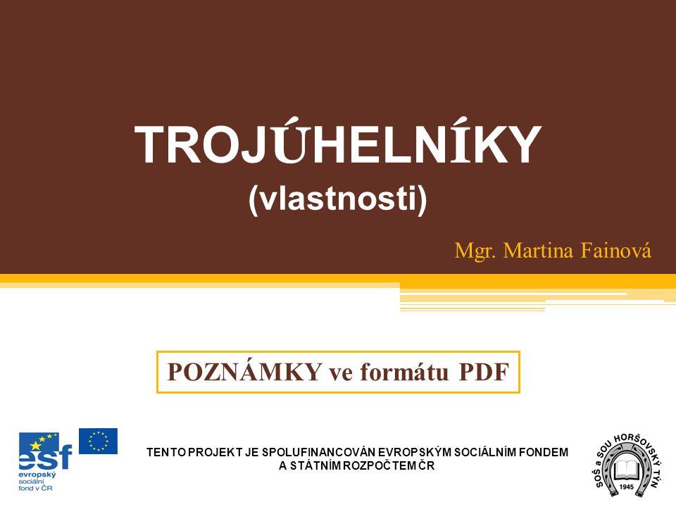 POZNÁMKY ve formátu PDF