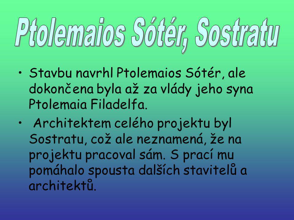 Ptolemaios Sótér, Sostratu