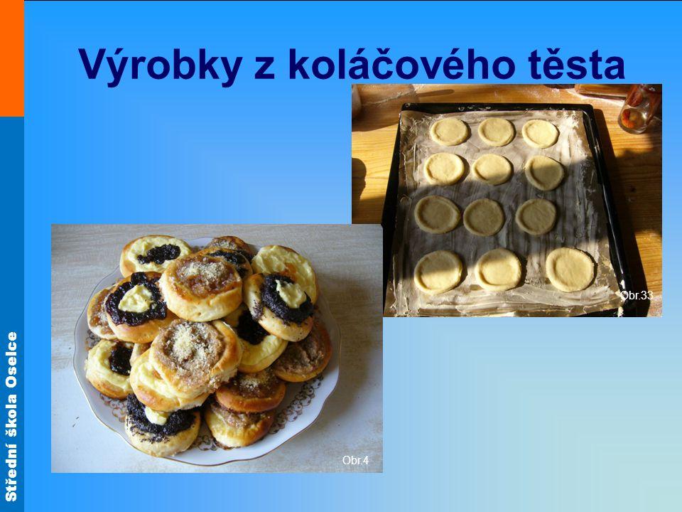 Výrobky z koláčového těsta