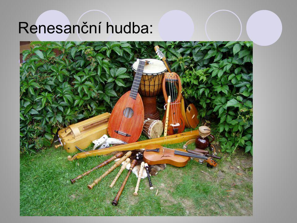 Renesanční hudba: YouTube - Muzica et danza antiqua: Renesance