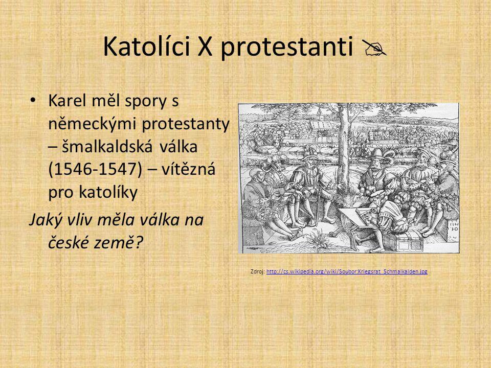 Katolíci X protestanti 