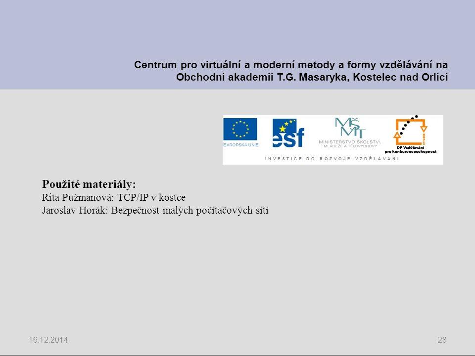 Centrum pro virtuální a moderní metody a formy vzdělávání na