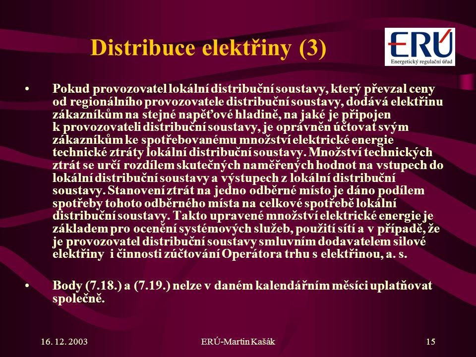 Distribuce elektřiny (3)