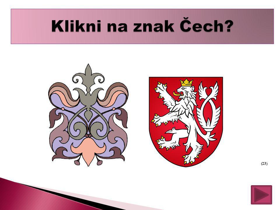 Klikni na znak Čech (23)