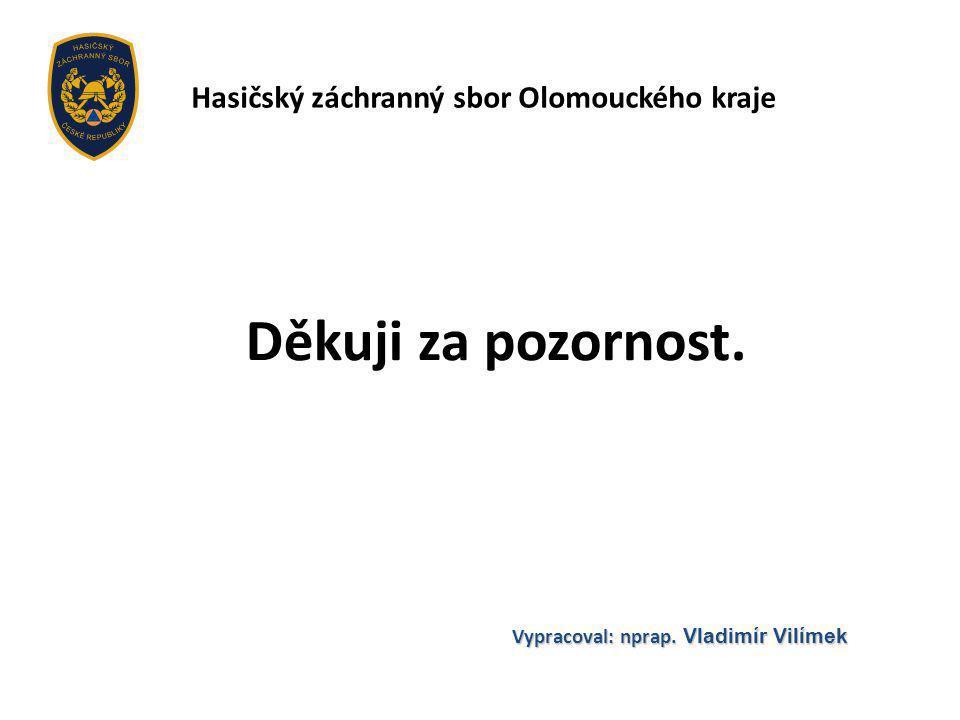Vypracoval: nprap. Vladimír Vilímek