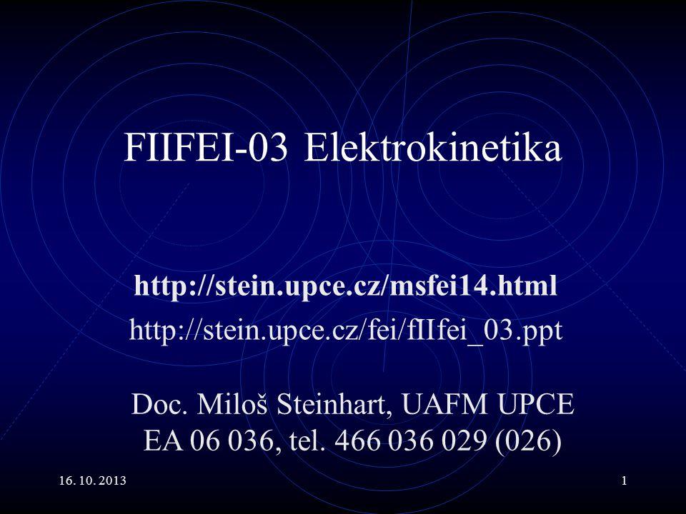 FIIFEI-03 Elektrokinetika