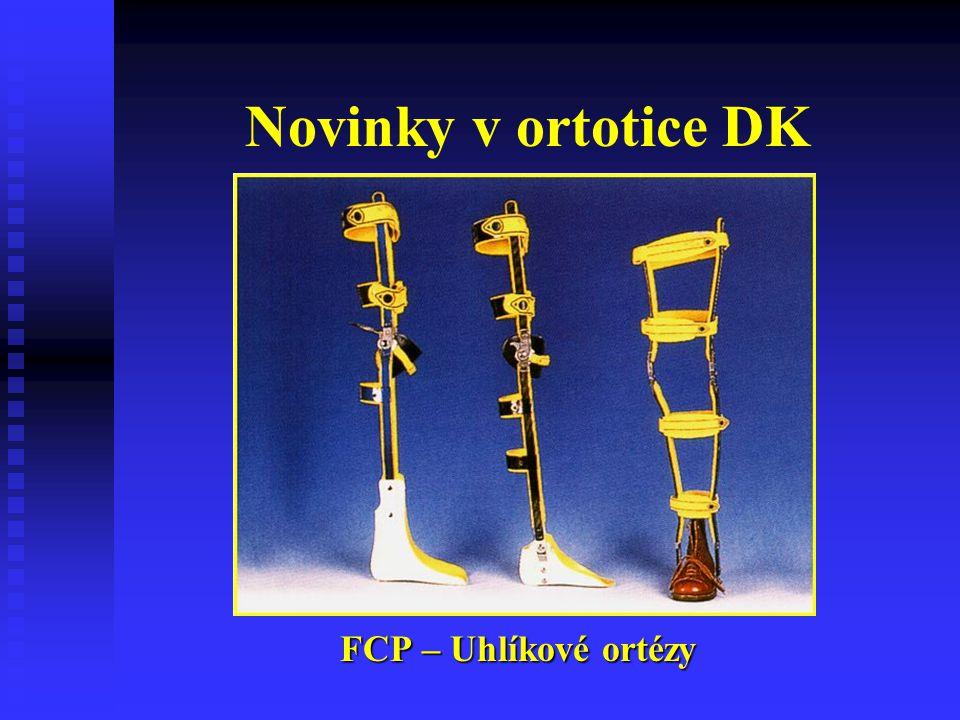 Novinky v ortotice DK FCP – Uhlíkové ortézy