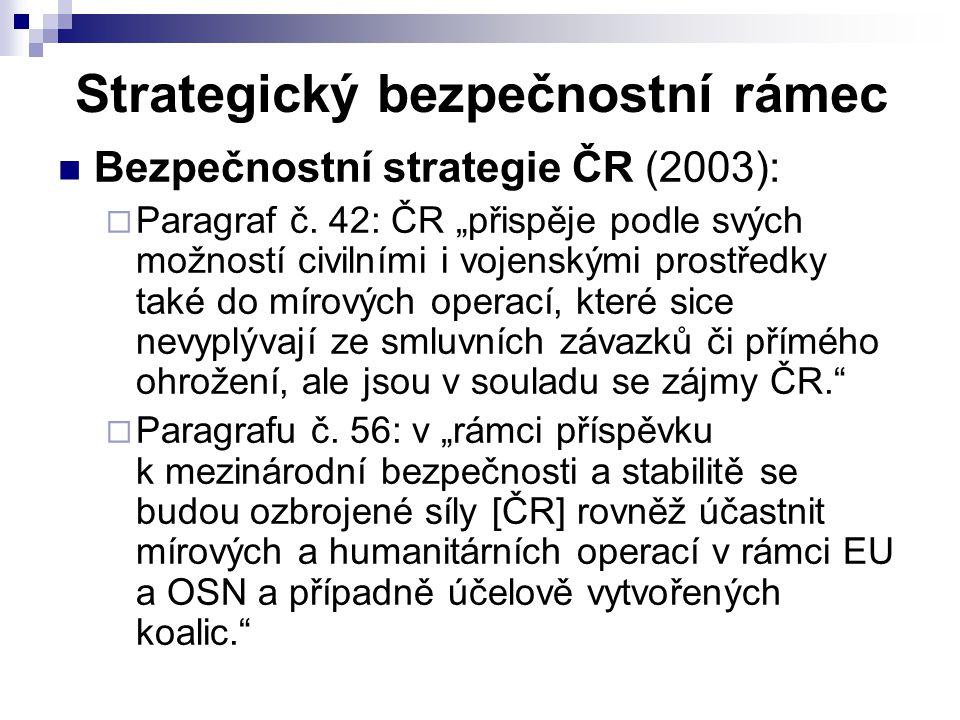 Strategický bezpečnostní rámec