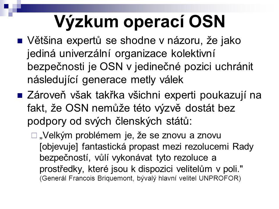 Výzkum operací OSN