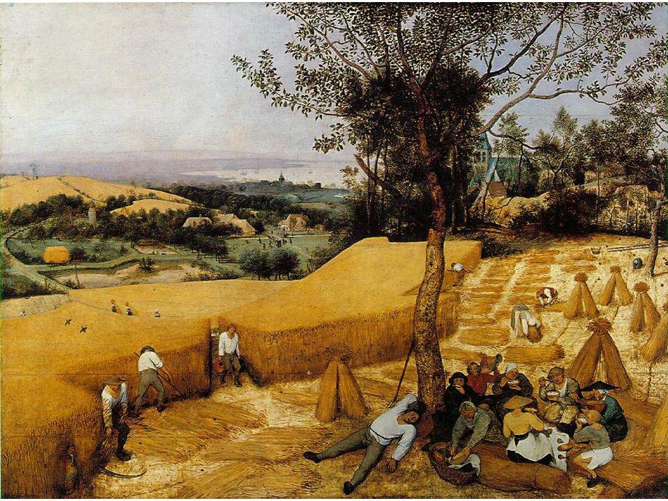 Pieter Brueghel starší: Žně