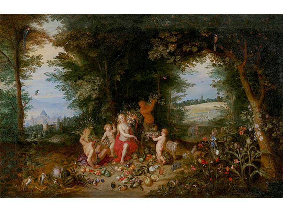 Brueghel květinkový: Krajina s ceresem