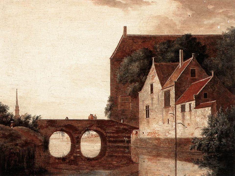 Pohled na krajinu s mostem