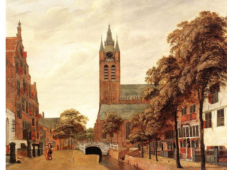 Pohled na Delft: srovnej s Vermeerem