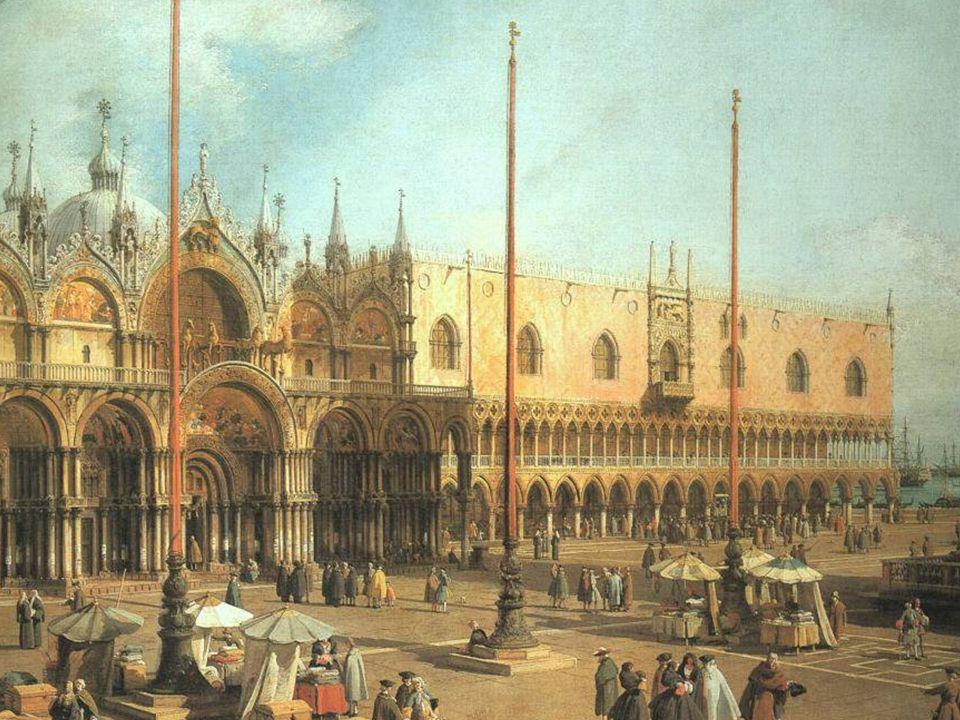 Náměství San Marco v Benátkách