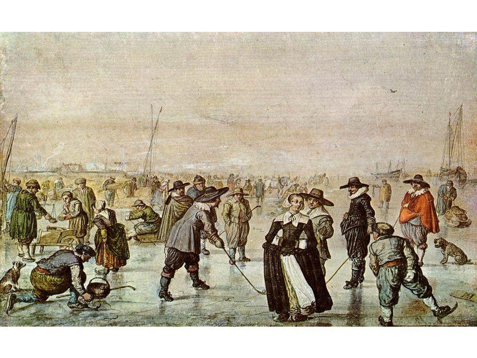 Scéna na ledě - Haarlem