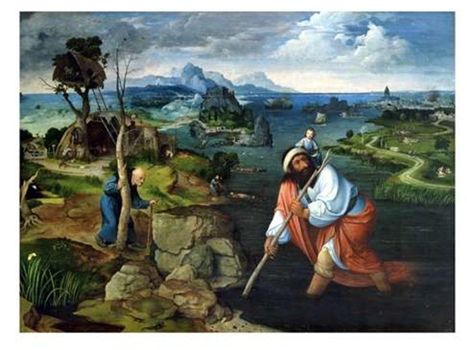 J. Patinir: Svatý Kryštof