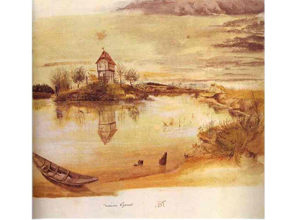 Albrecht Dureer: Dům u rybníka
