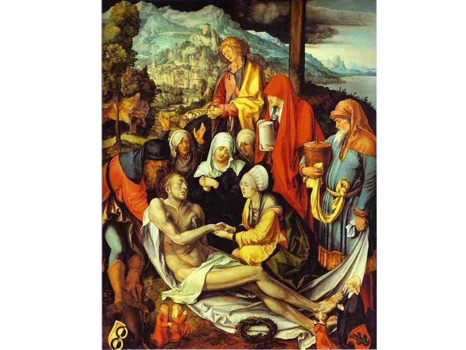 A. Durer: Oplakávání Krista
