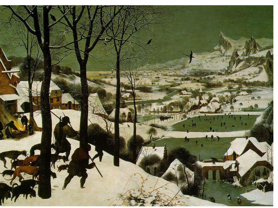 Pieter Brueghel starší: lovci ve sněhu
