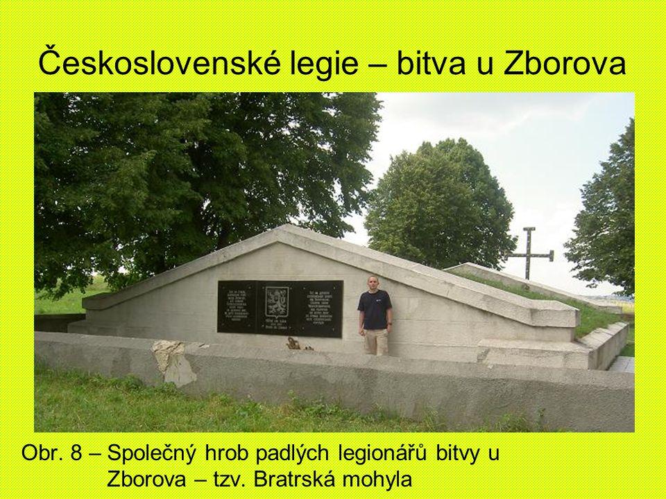 Československé legie – bitva u Zborova