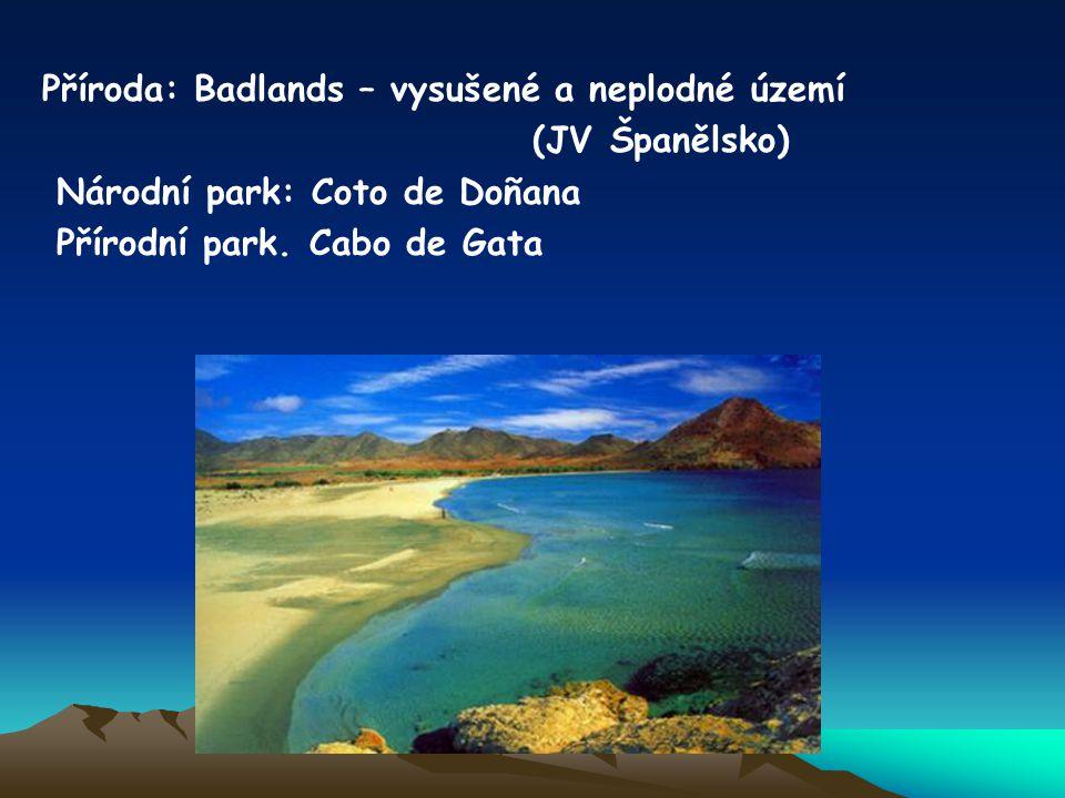 Příroda: Badlands – vysušené a neplodné území