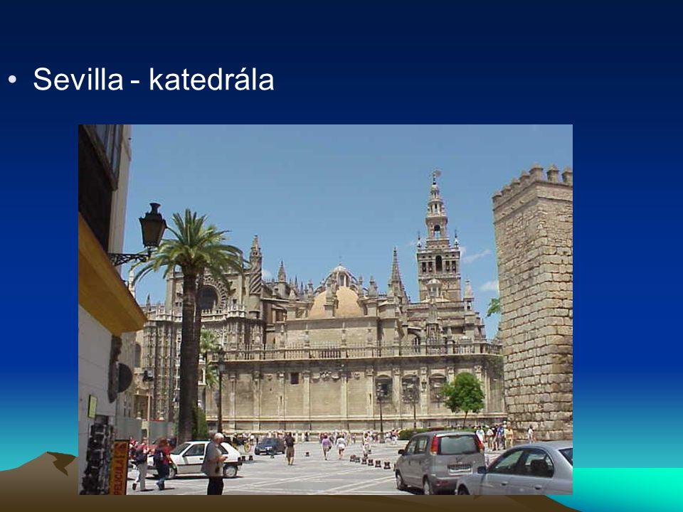 Sevilla - katedrála